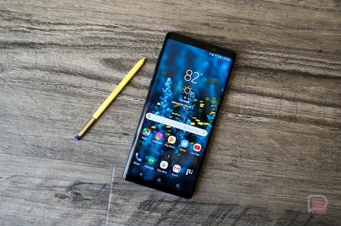 Galaxy Note 9 bắt đầu nhận cập nhật Android Pie ảnh 1