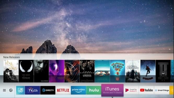 Apple bất ngờ ký hợp tác đưa iTunes lên TV Samsung ảnh 1