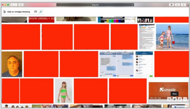 Microsoft bị tố vô trách nhiệm khi Bing hiển thị ảnh ấu dâm ảnh 1
