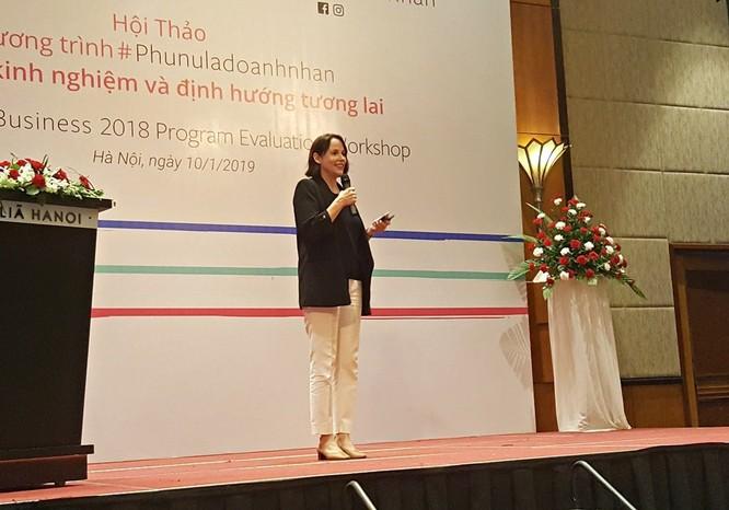 Khoảng 3.000 phụ nữ Việt được trang bị kiến thức kinh doanh trực tuyến ảnh 1