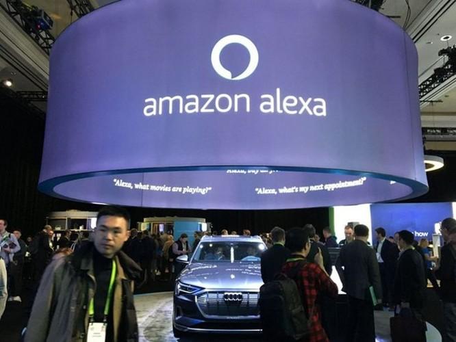 CES 2019: Sàn diễn phô trương sức mạnh AI của Amazon và Google ảnh 1