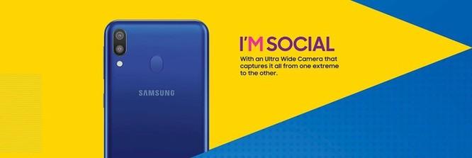 Chi tiết Galaxy M, điện thoại 'giọt nước' đầu tiên của Samsung ảnh 4