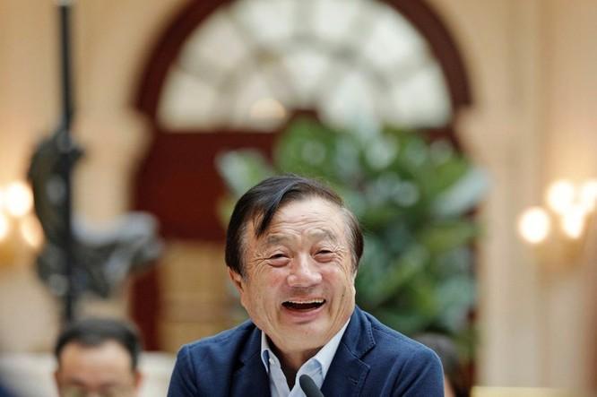 Cha đẻ Huawei xuất hiện sau thời gian dài ẩn mình ảnh 1