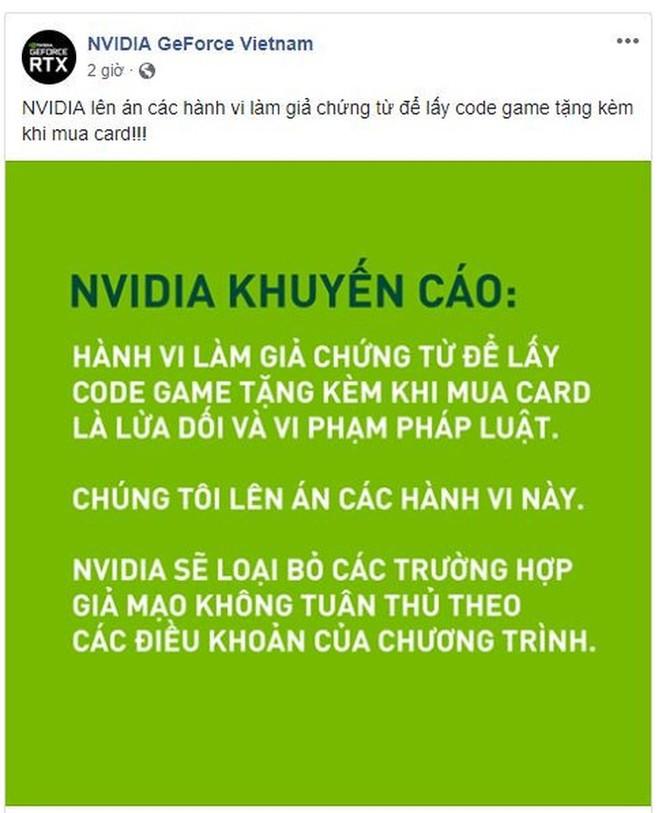 Game thủ VN giả chứng từ để lấy code, Nvidia và MSI, Gigabyte lên án ảnh 1