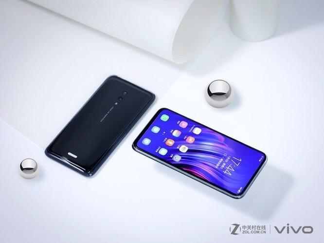 Smartphone không cổng kết nối, không phím cứng từ Vivo ảnh 4