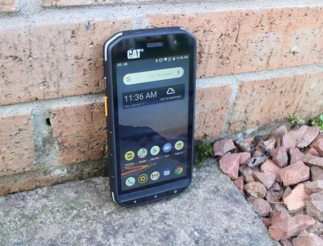 Khám phá chiếc smartphone 'nồi đồng cối đá' Cat S48c ảnh 1