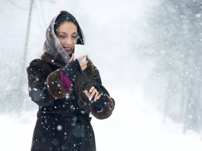 Mỹ lạnh hơn Nam Cực, smartphone ở ngoài trời có thể sụp nguồn ảnh 1