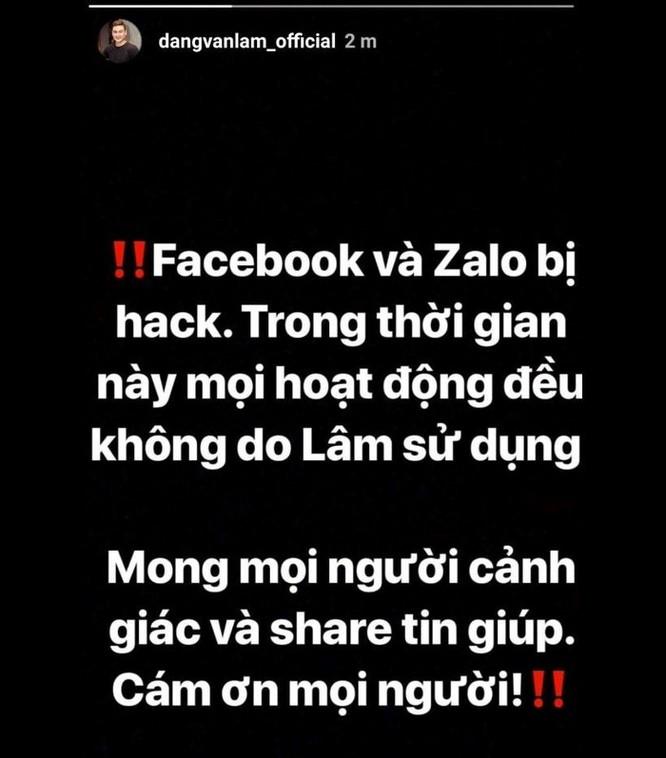 Facebook Đặng Văn Lâm bị chiếm quyền, lộ thông tin nhạy cảm ảnh 2