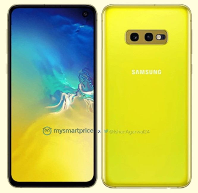 'Soi' ảnh báo chí của Galaxy S10 và Galaxy S10e ảnh 2