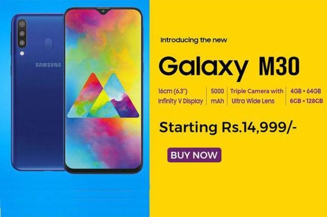 Samsung Galaxy M20 về VN: Pin 5.000 mAh, camera kép, giá 5 triệu ảnh 9