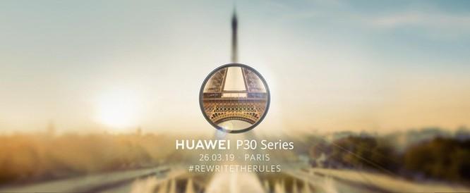 Chưa có đối thủ về camera, Huawei lại sắp ra mắt P30 Pro ảnh 1