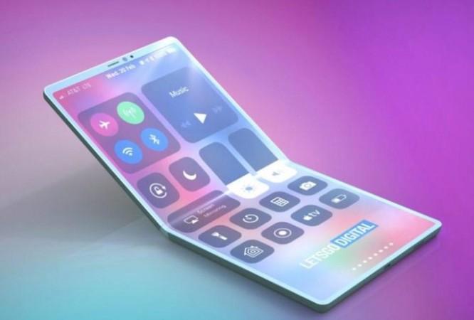 iPhone màn hình gập hai chiều sẽ như thế này ảnh 1