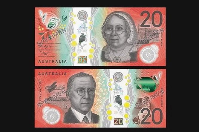 Australia công bố mẫu tiền 20 AUD mới với nhiều thay đổi lớn ảnh 1