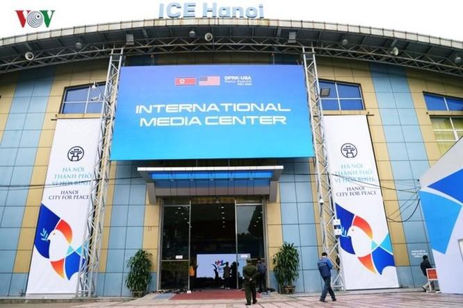 Cận cảnh Trung tâm Báo chí Quốc tế cho 3.000 phóng viên đưa tin hội nghị Mỹ - Triều ảnh 1