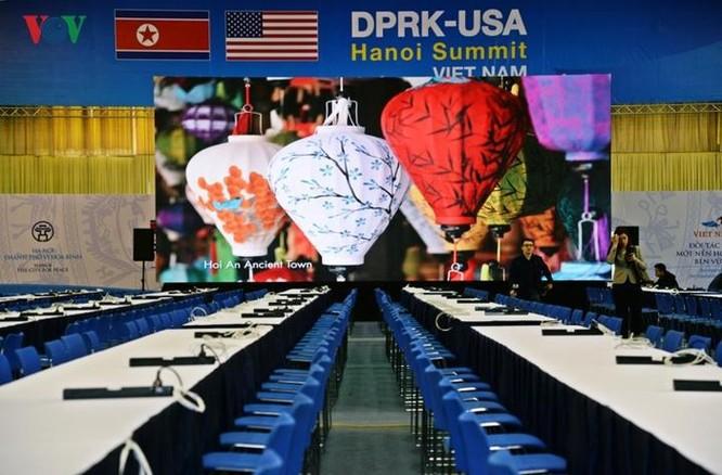 Cận cảnh Trung tâm Báo chí Quốc tế cho 3.000 phóng viên đưa tin hội nghị Mỹ - Triều ảnh 6