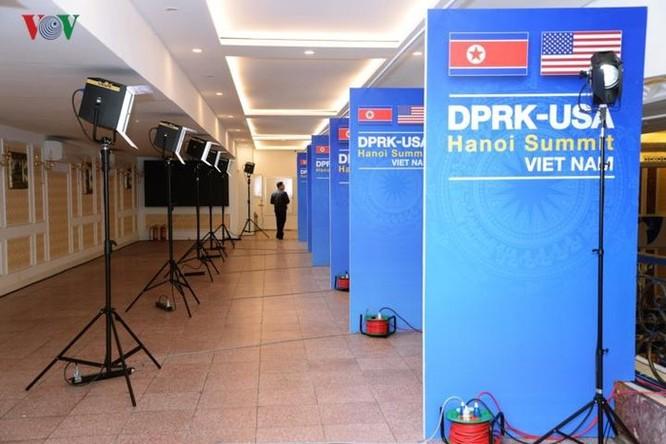 Cận cảnh Trung tâm Báo chí Quốc tế cho 3.000 phóng viên đưa tin hội nghị Mỹ - Triều ảnh 8
