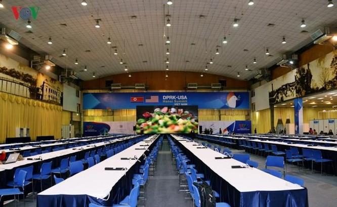 Cận cảnh Trung tâm Báo chí Quốc tế cho 3.000 phóng viên đưa tin hội nghị Mỹ - Triều ảnh 3