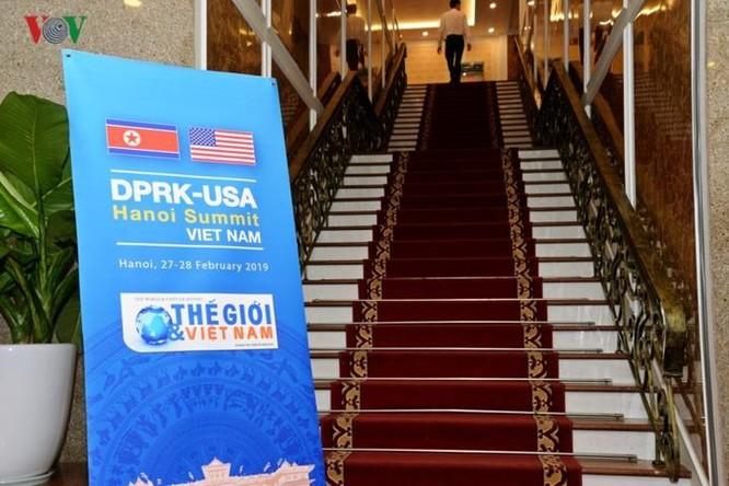 Cận cảnh Trung tâm Báo chí Quốc tế cho 3.000 phóng viên đưa tin hội nghị Mỹ - Triều ảnh 7