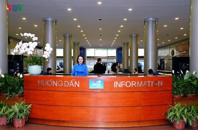 Cận cảnh Trung tâm Báo chí Quốc tế cho 3.000 phóng viên đưa tin hội nghị Mỹ - Triều ảnh 2