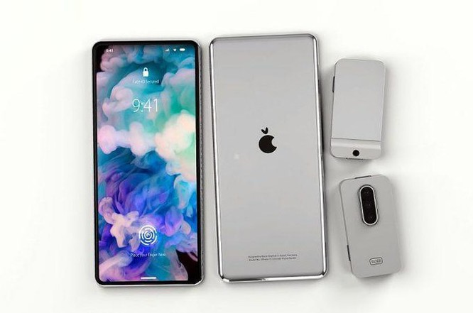 Bản dựng iPhone không cổng kết nối, camera dùng module rời ảnh 1