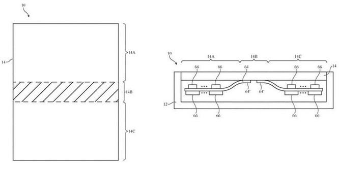 iPhone màn hình gập có thể tự động phát hiện nhiệt độ ảnh 2