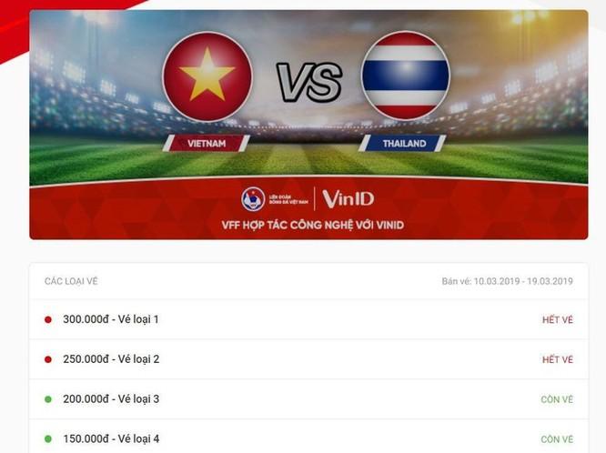 Vé xem trận U23 Việt Nam - Thái Lan cháy hàng khi vừa mở bán ảnh 1