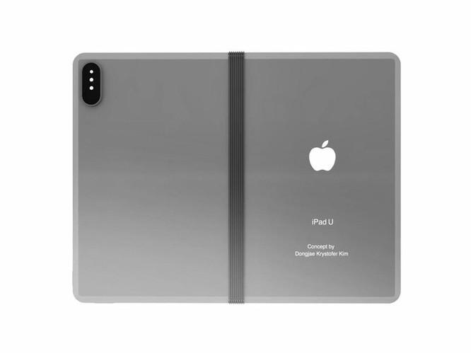 iPad màn hình gập trông như thế nào? ảnh 1