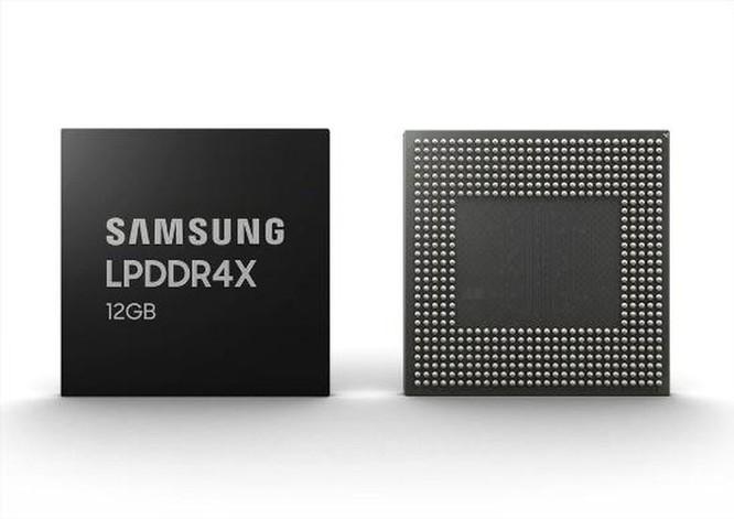 Samsung sản xuất hàng loạt RAM 12GB LPDDR4X cho smartphone ảnh 2