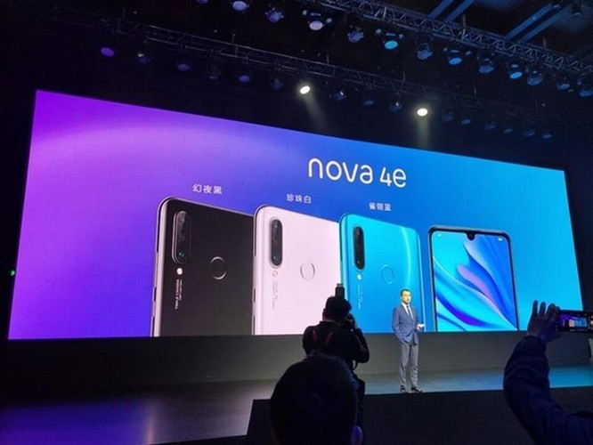 Huawei nova 4e ra mắt - 3 camera, giá 298 USD ảnh 7