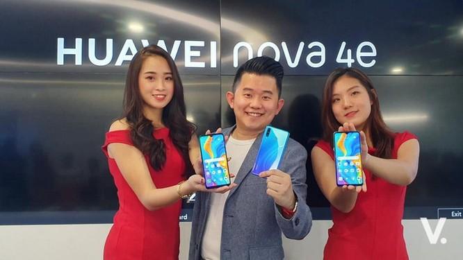 Huawei nova 4e ra mắt - 3 camera, giá 298 USD ảnh 5