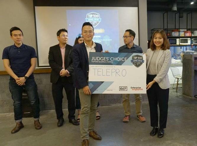 TelePro vô địch vòng loại Hội nghị thượng đỉnh khởi nghiệp châu Á tại Việt Nam ảnh 1