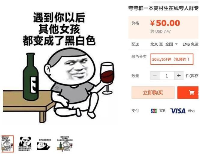 Sinh viên TQ kiếm tiền nhờ khen ngợi người khác trên mạng ảnh 2
