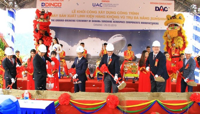 Khởi công nhà máy linh kiện máy bay trị giá 170 triệu USD ở Đà Nẵng ảnh 2