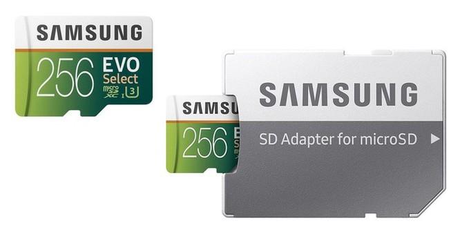 Thẻ nhớ Samsung 256 GB đang giảm giá rẻ không tưởng ảnh 1