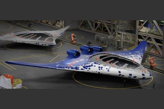 NASA phát triển cánh máy bay có khả năng 'biến hình' trên không ảnh 3