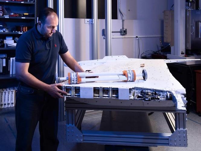 NASA phát triển cánh máy bay có khả năng 'biến hình' trên không ảnh 11