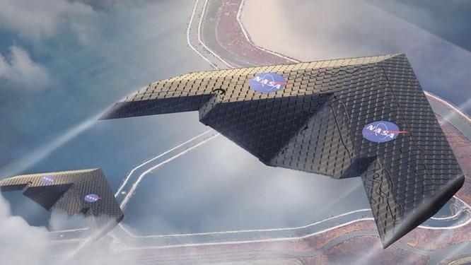 NASA phát triển cánh máy bay có khả năng 'biến hình' trên không ảnh 1