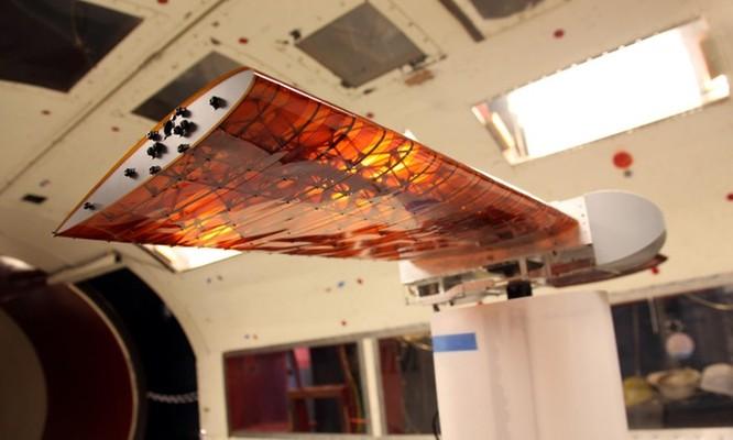 NASA phát triển cánh máy bay có khả năng 'biến hình' trên không ảnh 8
