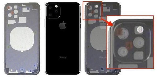 iPhone 2019 sẽ có 4 camera? ảnh 1
