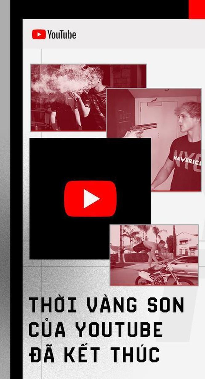 Thời vàng son của YouTube đã kết thúc ảnh 1
