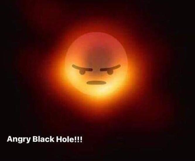 Ra mắt chưa tới một ngày, hố đen vũ trụ đã thành 'nạn nhân' ảnh chế ảnh 6