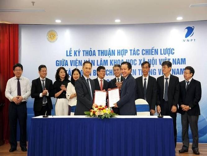 VNPT sẽ hỗ trợ Viện Hàn lâm KHXH Việt Nam ứng dụng CNTT theo xu hướng 4.0 ảnh 1