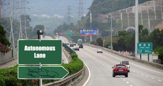 Trung Quốc mở đường riêng cho ôtô tự lái ảnh 1