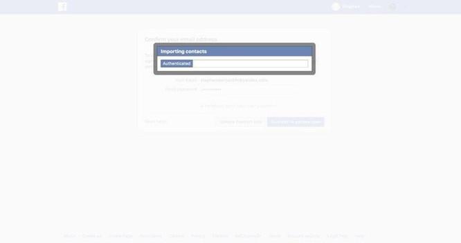 Facebook 'vô tình' thu thập 1,5 triệu liên hệ của người dùng qua email ảnh 1