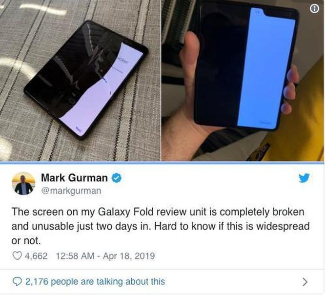 Điện thoại gấp có giá 2000 USD của Samsung dễ bị hỏng, vỡ ảnh 2