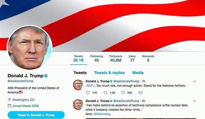 Họp riêng CEO Twitter, ông Trump than phiền vì mất lượt theo dõi ảnh 2