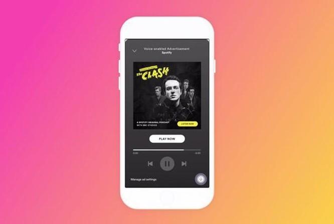 Spotify thử nghiệm các quảng cáo tương tác với người dùng ảnh 1