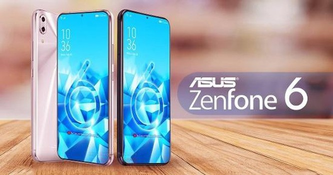 Asus ZenFone 6 lộ ảnh với thiết kế màn hình không giới hạn ảnh 1