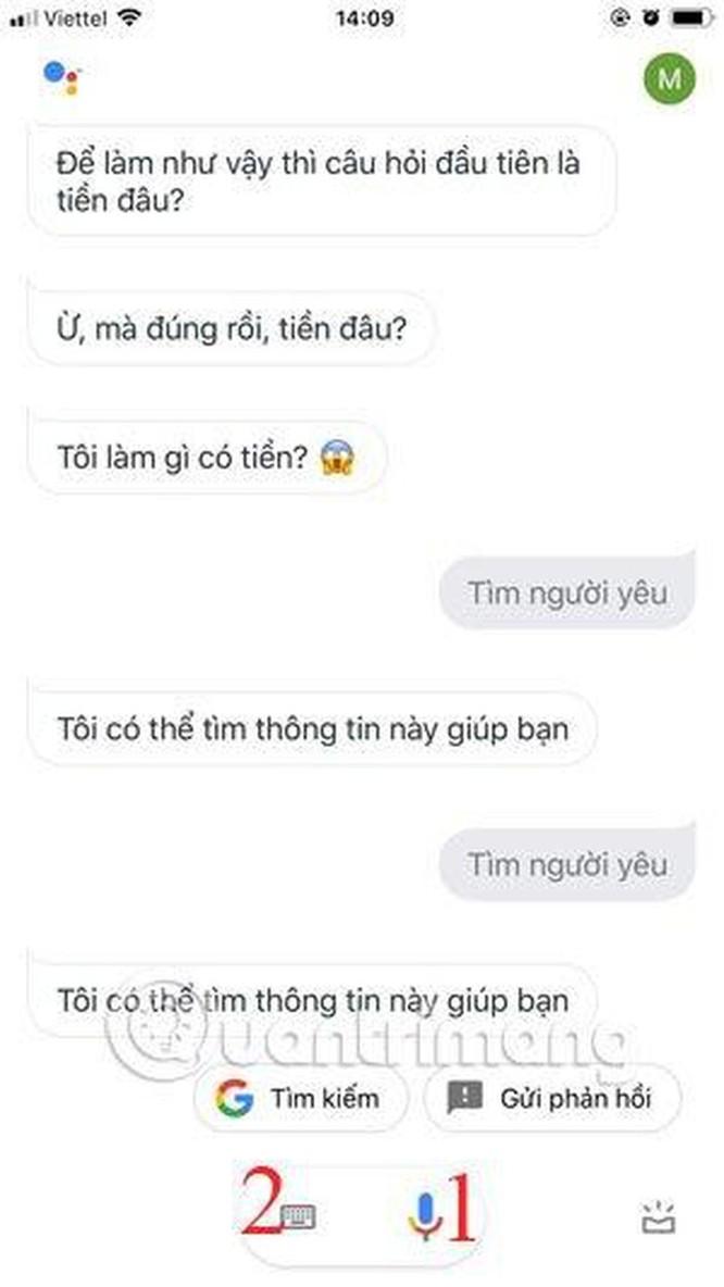 Hướng dẫn sử dụng trợ lý Google Assistant tiếng Việt trên iOS ảnh 5