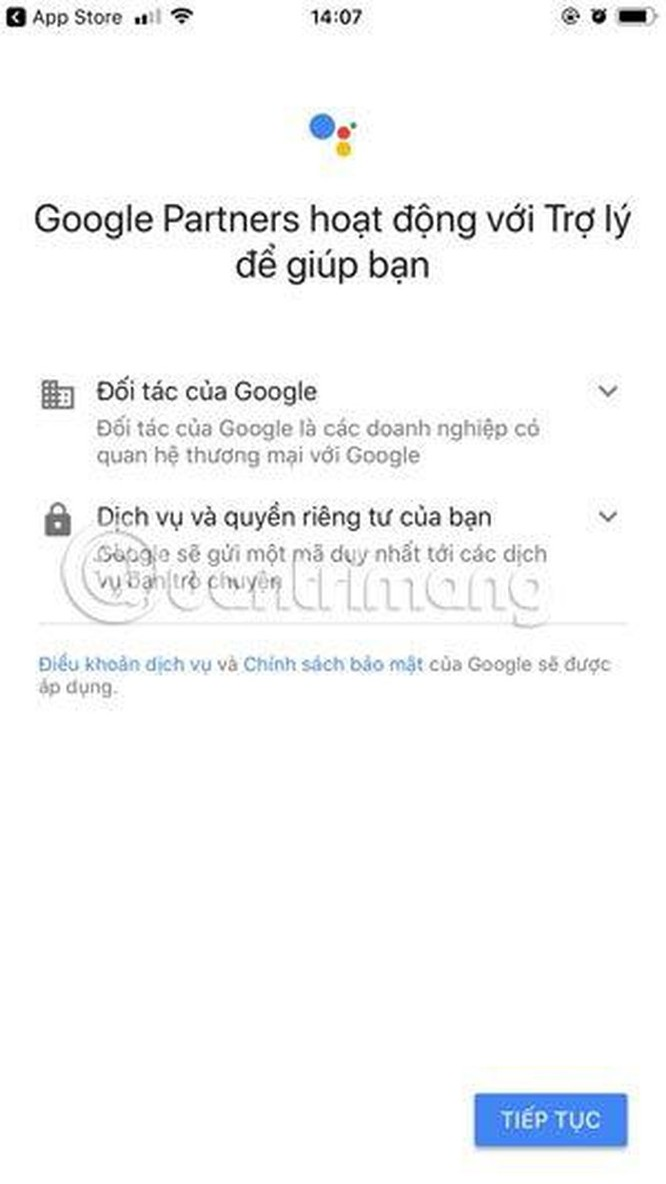 Hướng dẫn sử dụng trợ lý Google Assistant tiếng Việt trên iOS ảnh 4